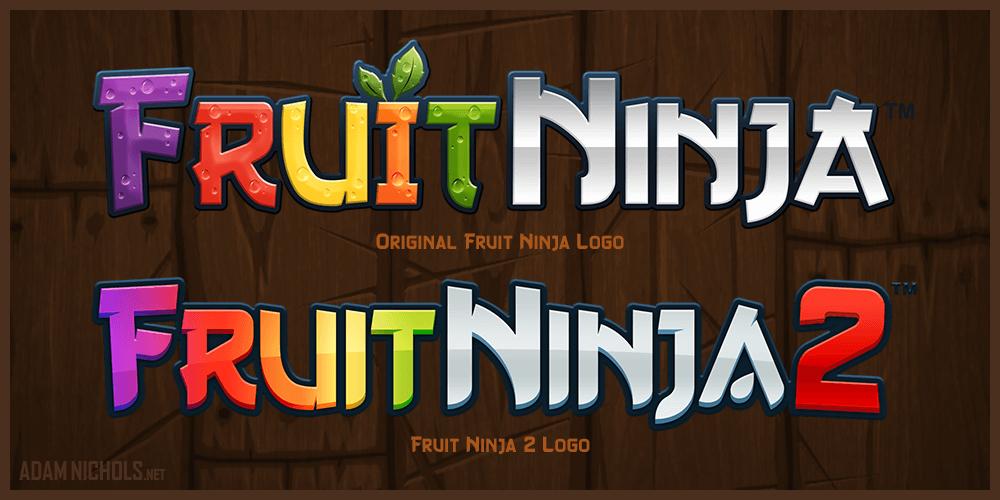 Fruit Ninja 2 - Game Logo Design