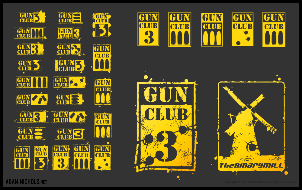 Gun Club 3 Artwork