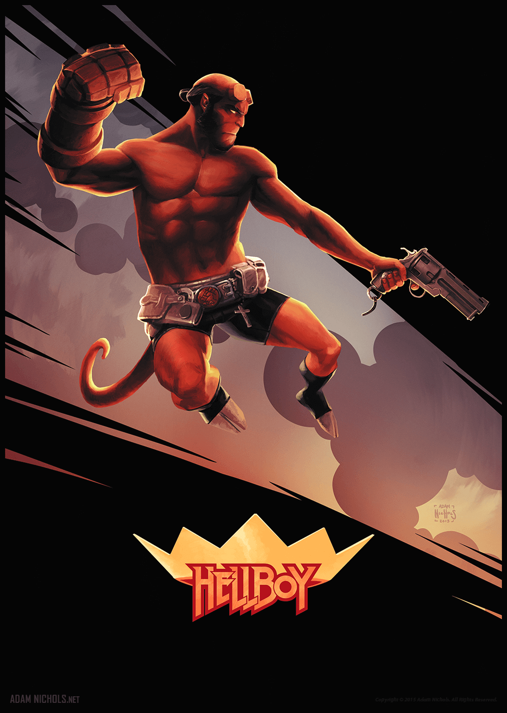 Hellboy - The Science of Evil Artwork
