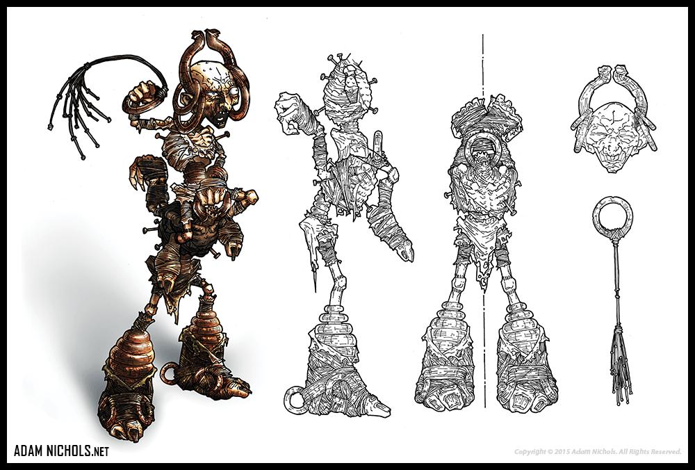 Hellboy - The Science of Evil Artwork