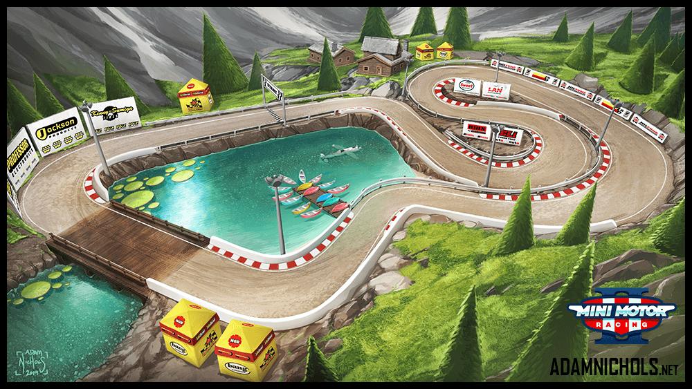 Mini Motor Racing 2 Track Concept Crystal Lake