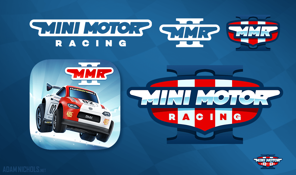 Mini Motor Racing 2 Primary and Secondary Brandmarks and Game Icon