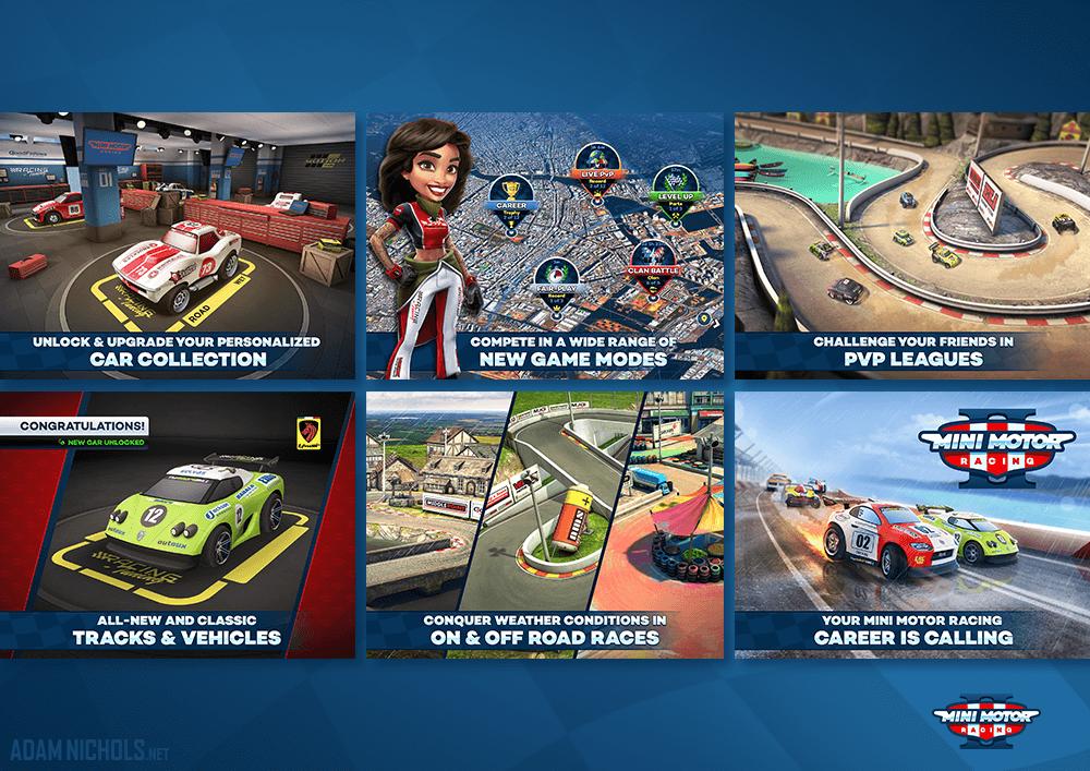 Mini Motor Racing 2 Storefront Screenshots