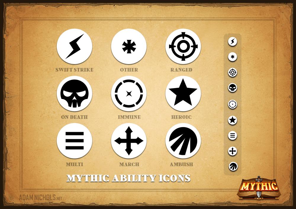 Mythic - Ability Icon Set