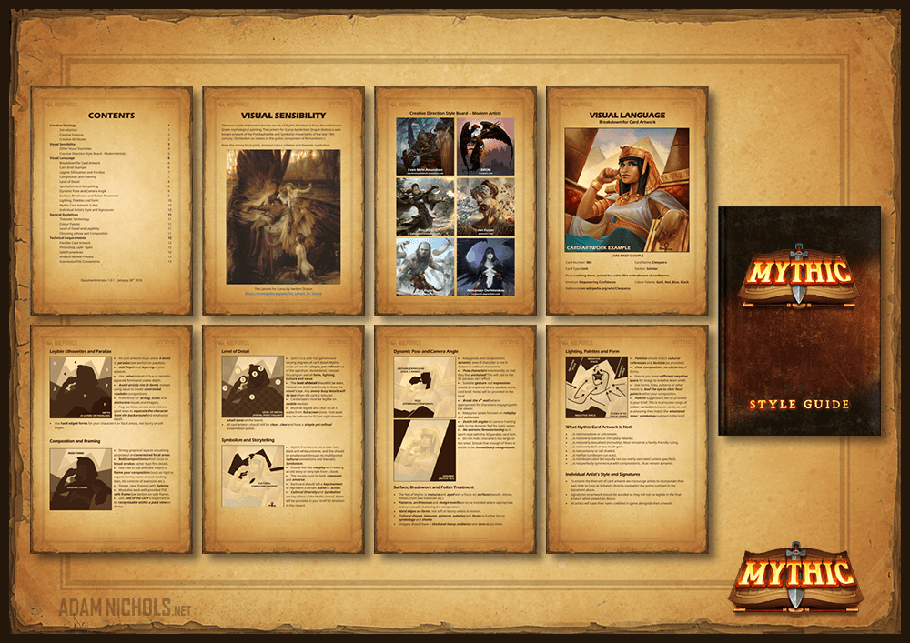 Mythic - Art Direction Style Guide