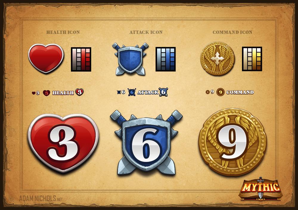 Mythic - HUD Icons Set