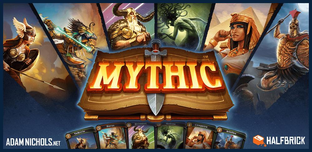 Mythic - Halfbrick Website Banner