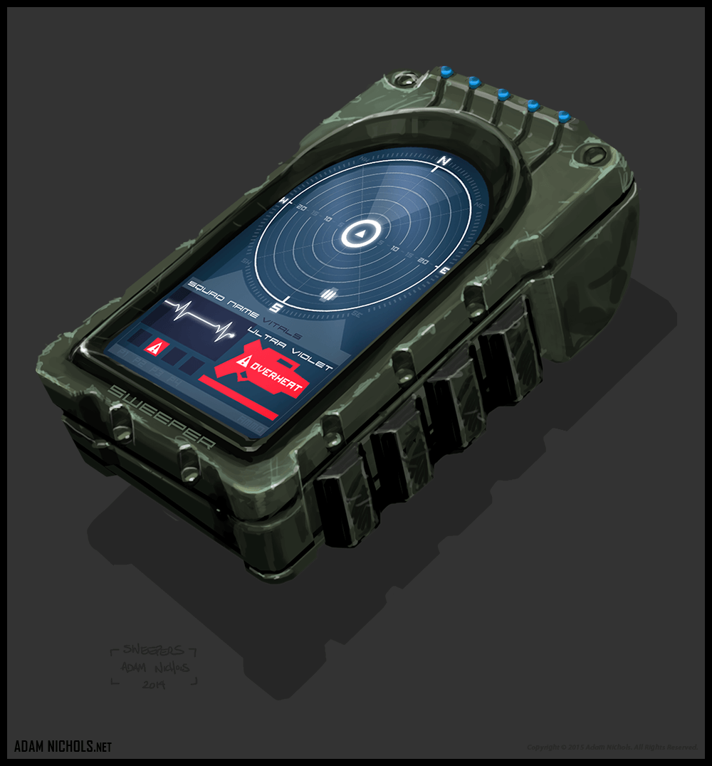 Sweepers Handheld Concept Design Artwork
