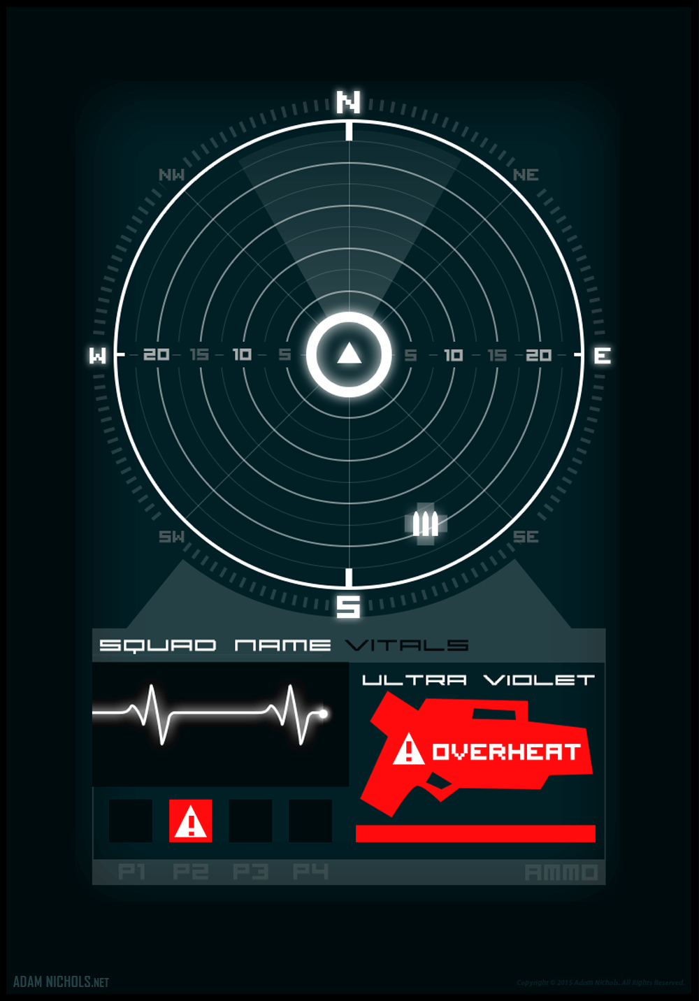 Sweepers UI Concept Design Artwork