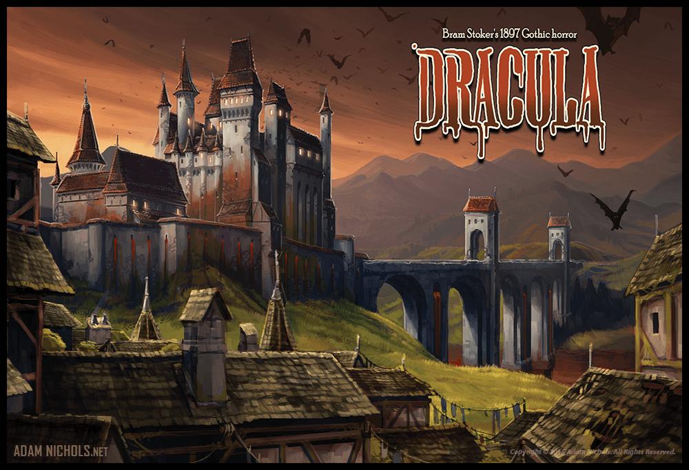 Bram Stroker Dracula Artwork