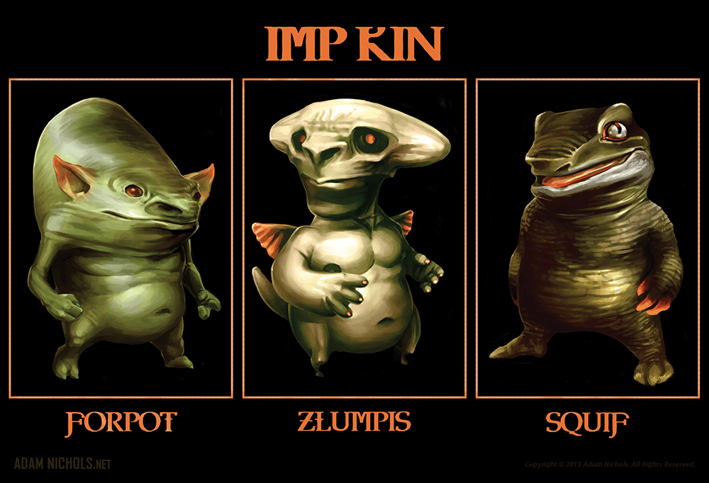 IMP KIN Artwork
