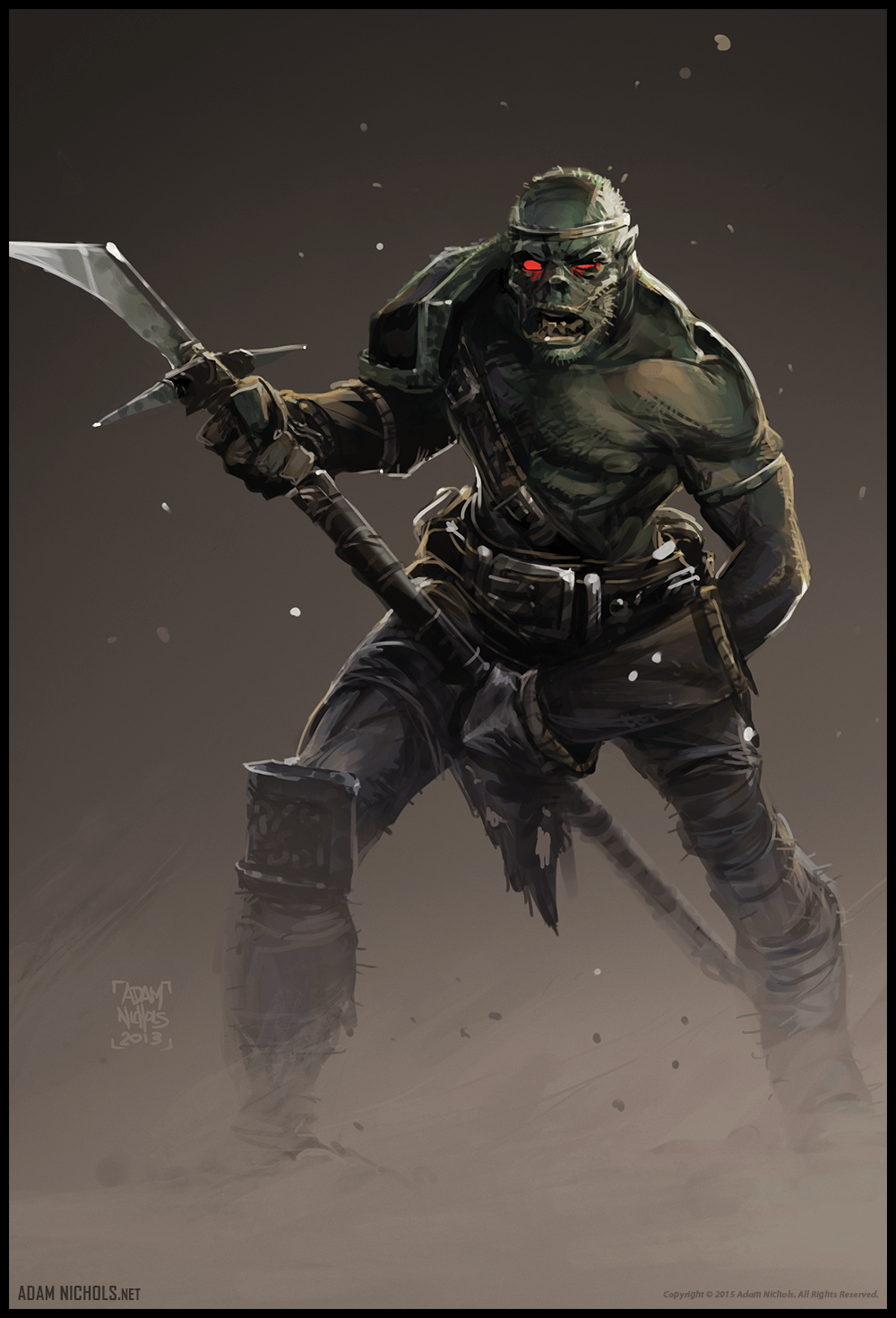 Orc Swamp Artwork