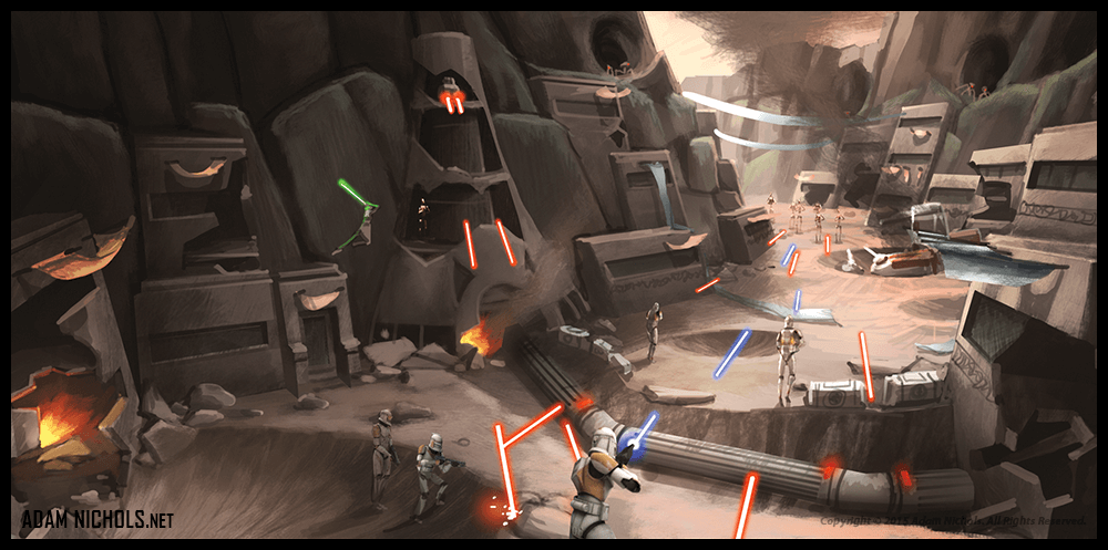 Clonewars - The Republic Heroes Artwork