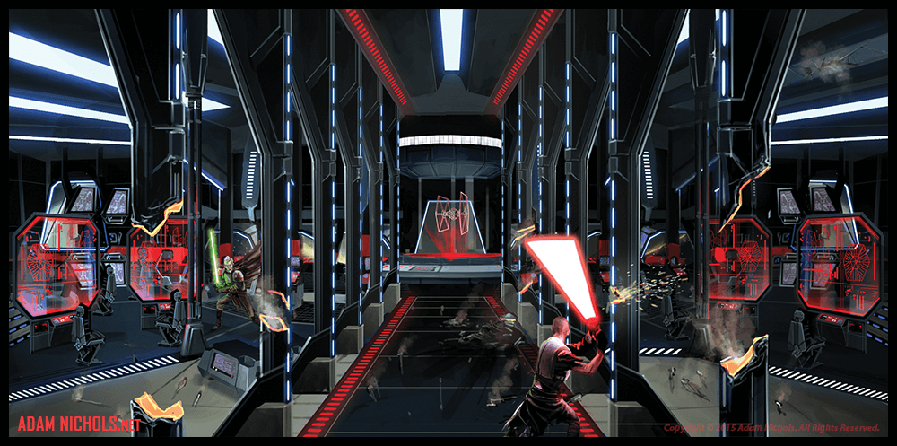 Star Wars - The Force Unleashed Artwork