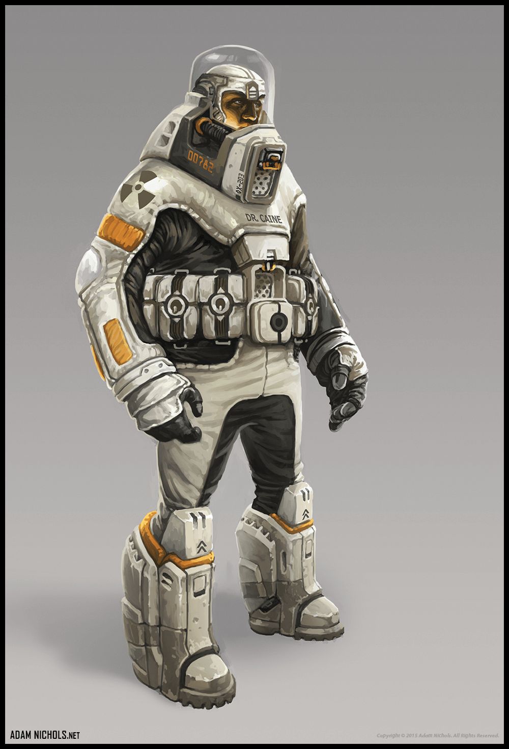 Stasis - Engineer Concept Character Design