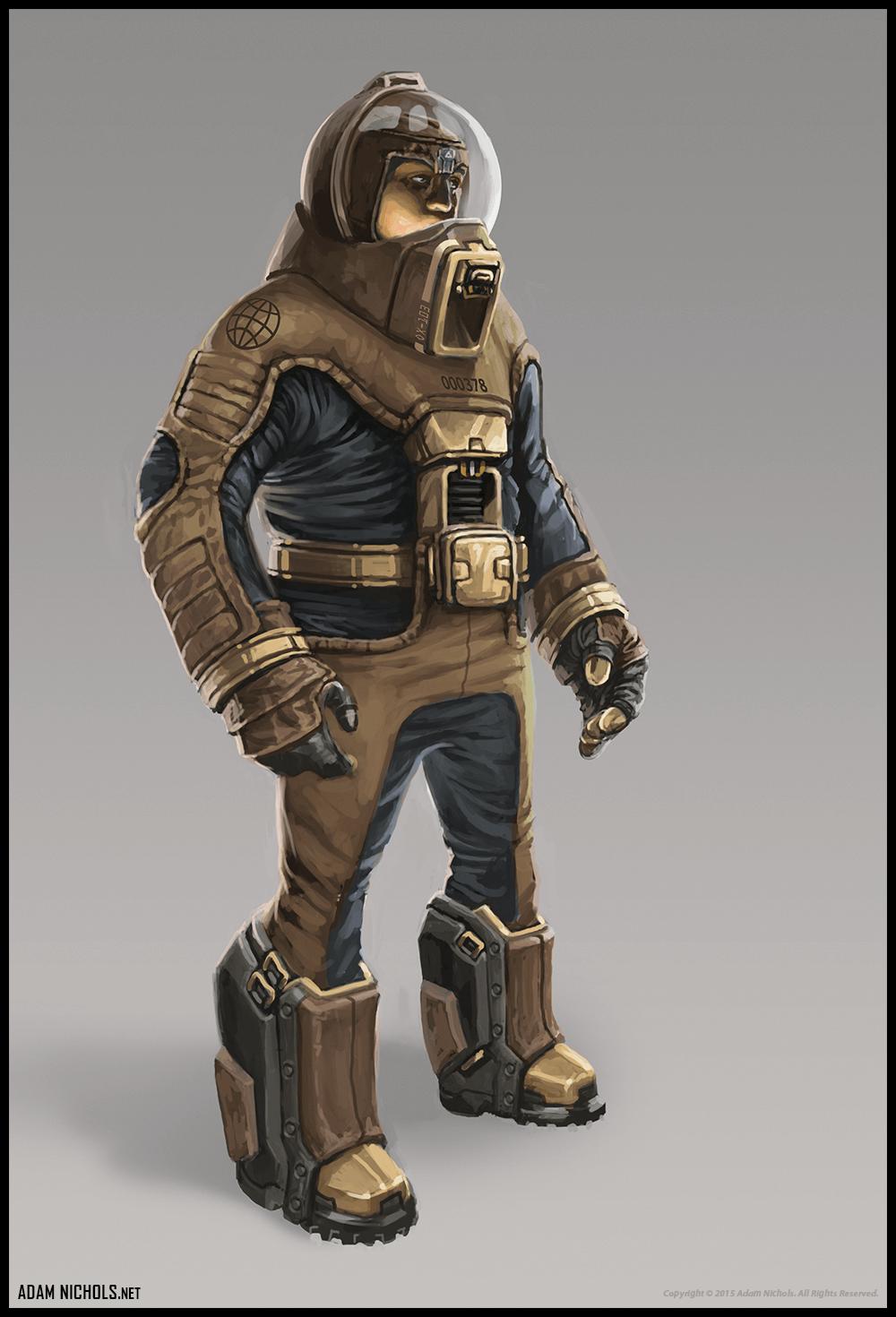 Stasis - Terraformer Concept Character Design