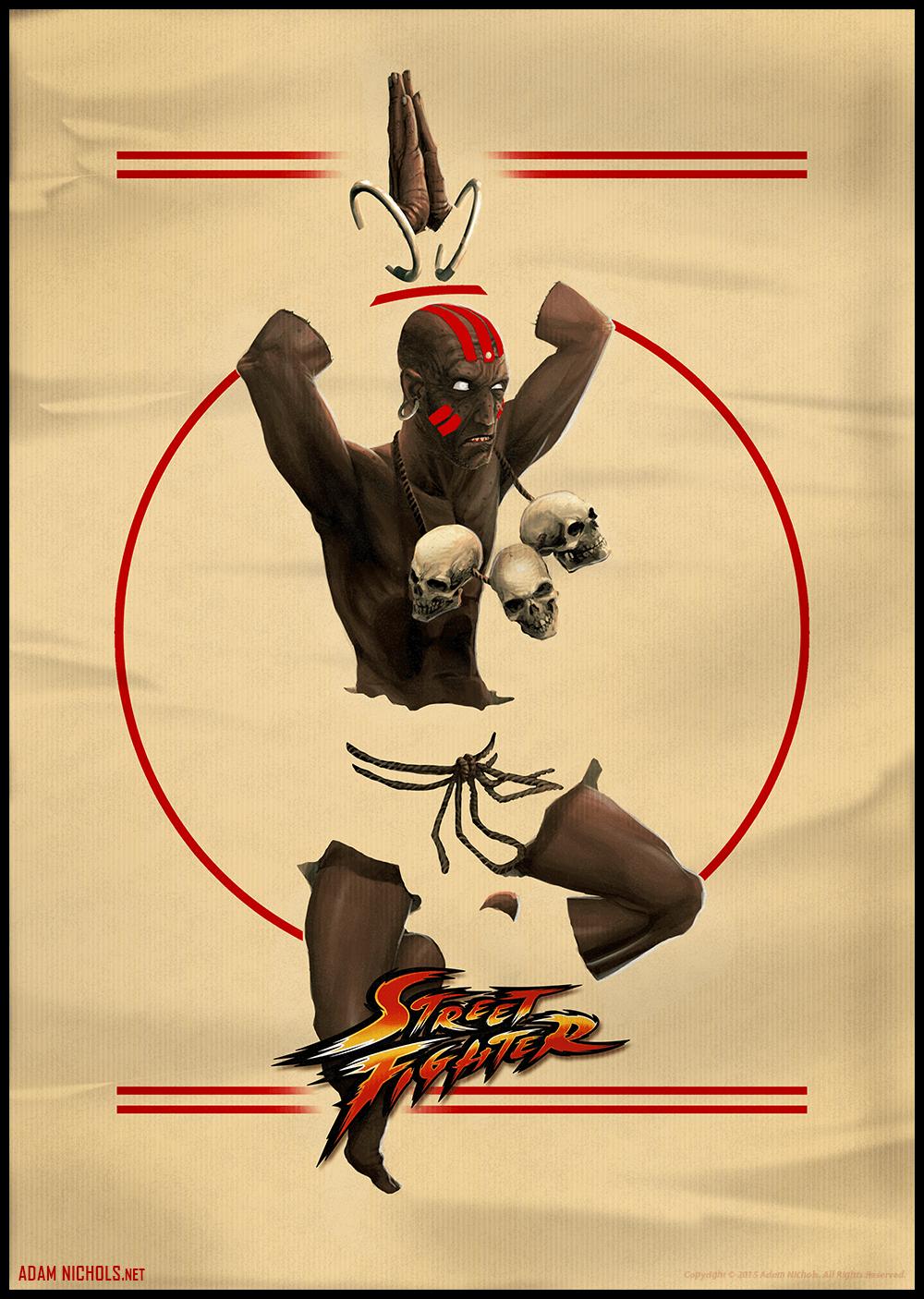 Adam Nichols Street Fighter - Tribute: Dhalsim