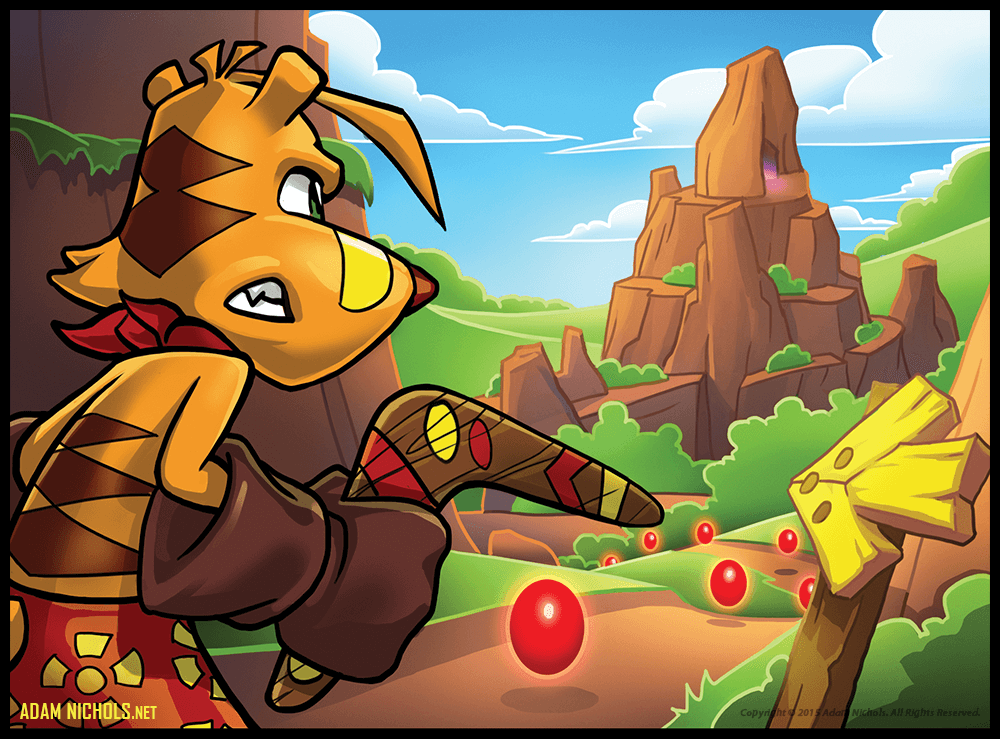 Ty The Tasmanian Tiger - Concept Art