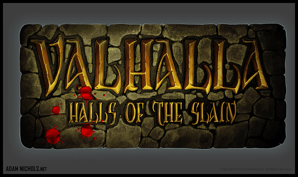 Valhalla: Halls of the Slain - Logo