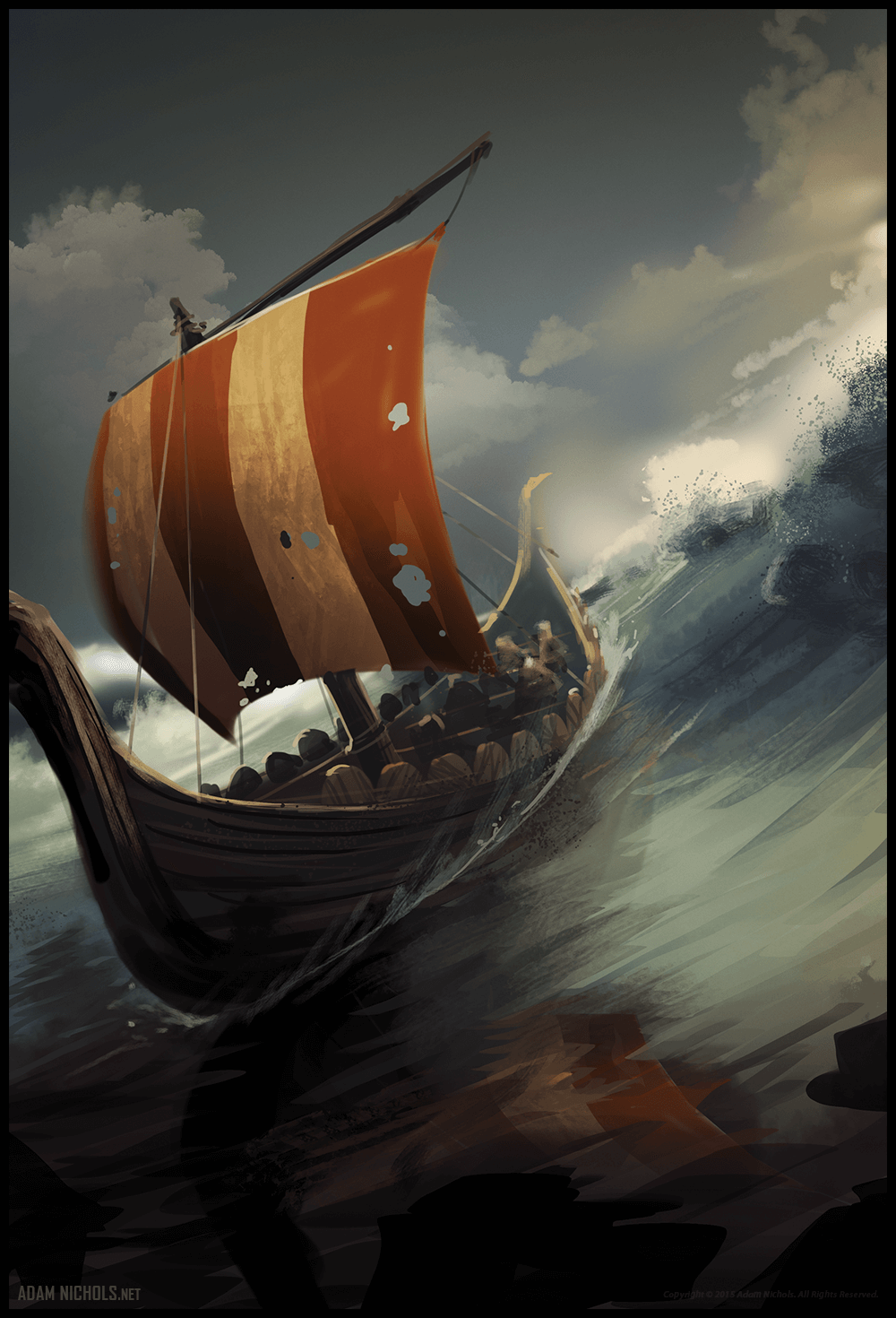 Valhalla: Halls of the Slain - Speed Painting