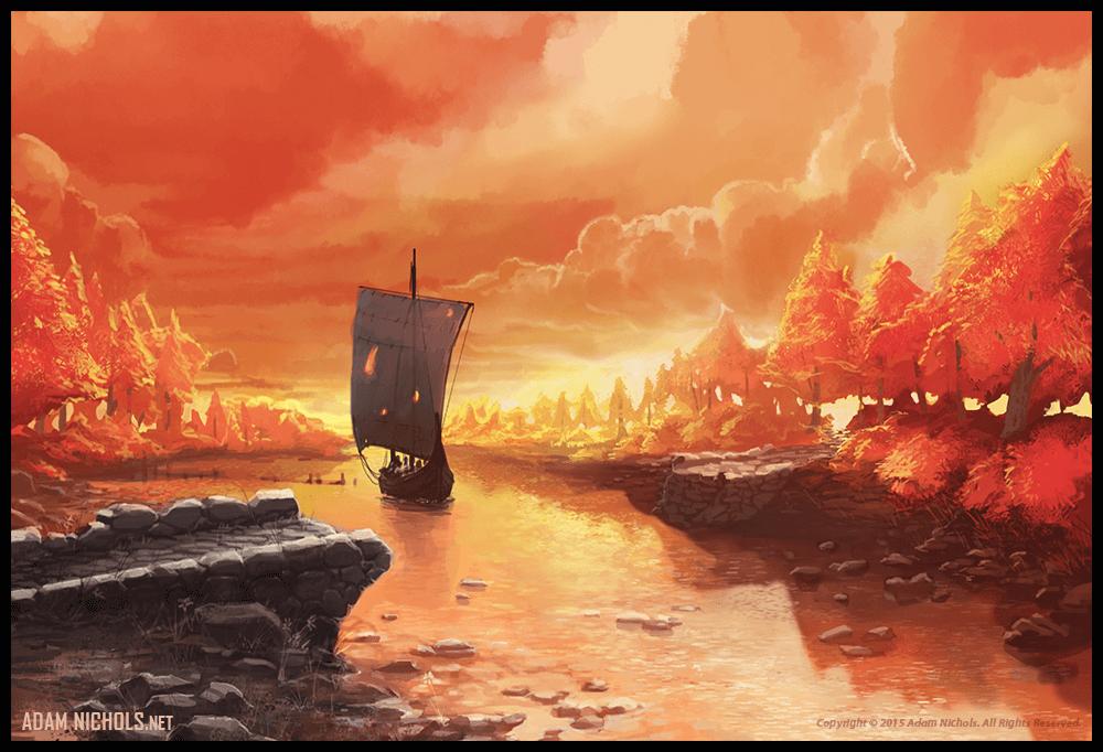 Valhalla: Halls of the Slain - Vermillion