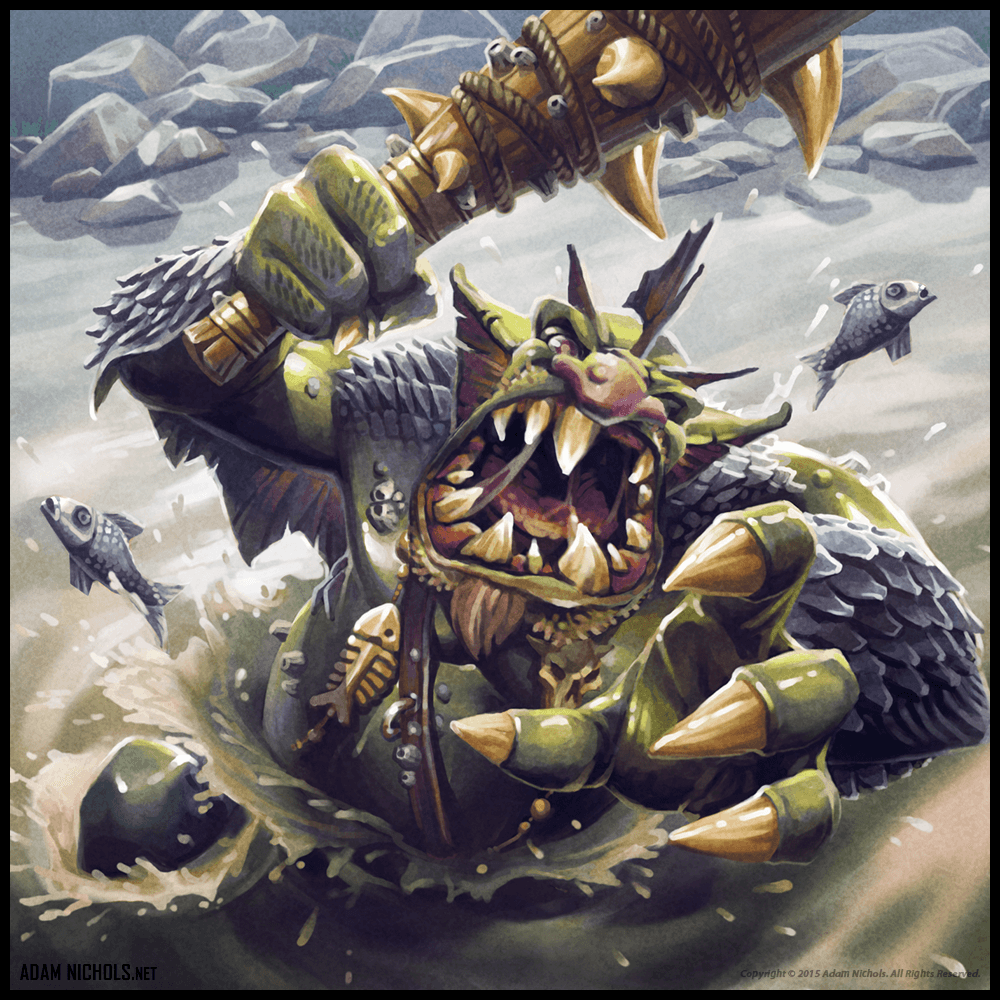 Warhammer Invasion - Final Card Artwork
